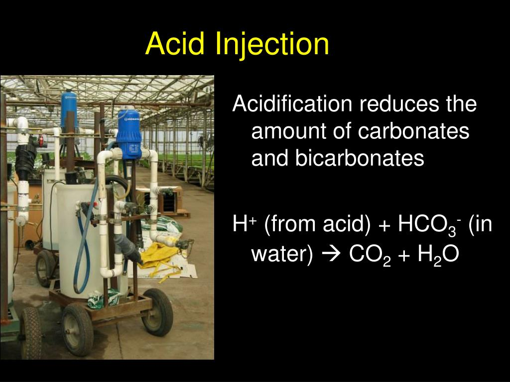 Acid Injection