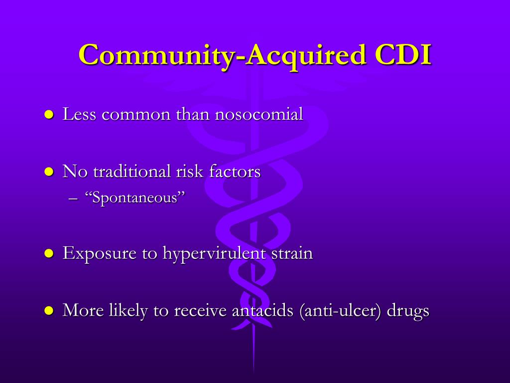 Community-Acquired CDI