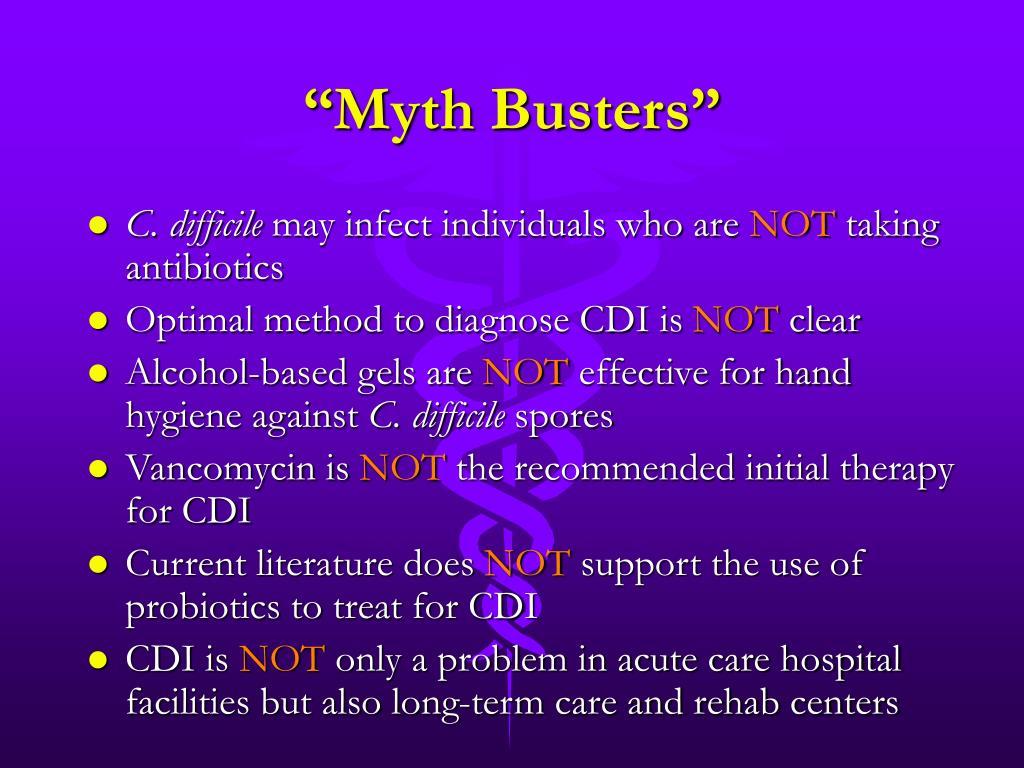 """Myth Busters"""