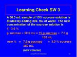 learning check sw 314