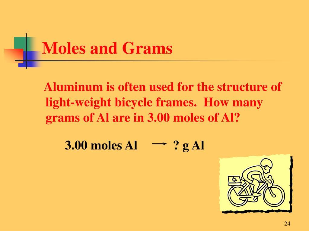 Moles and Grams