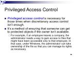 privileged access control