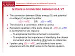 is there a connection between g v