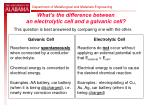 what s the difference between an electrolytic cell and a galvanic cell