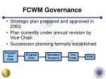 fcwm governance