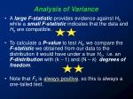 analysis of variance20