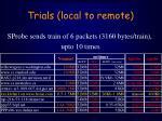 trials local to remote22