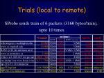 trials local to remote23