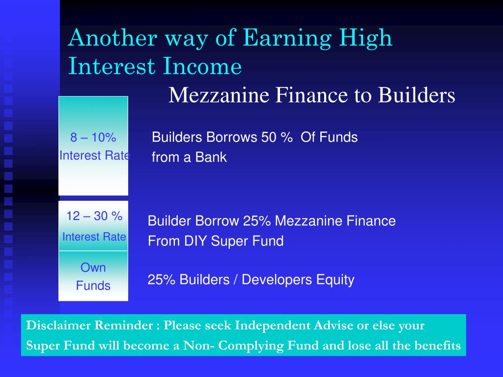 Another way of Earning High Interest Income