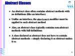 abstract classes65