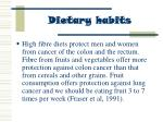 dietary habits62
