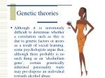 genetic theories19