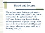 health and poverty93