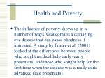 health and poverty95