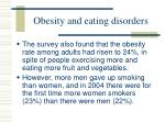 obesity and eating disorders66