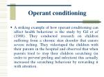 operant conditioning31