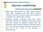 operant conditioning32