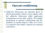 operant conditioning33