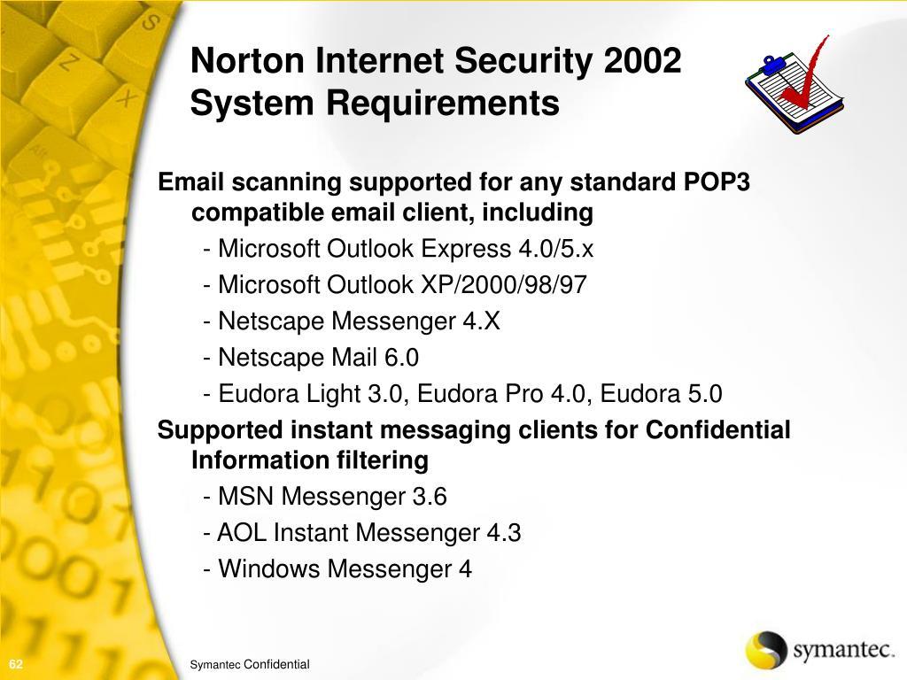 Norton Internet Security 2002
