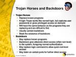 trojan horses and backdoors