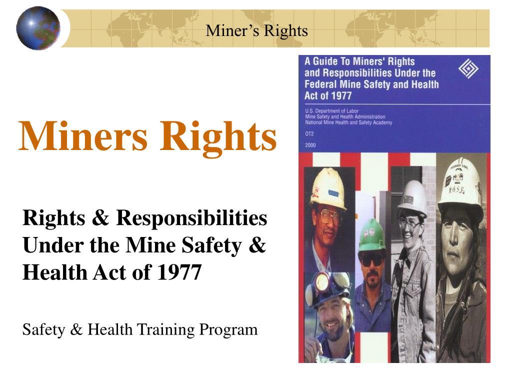 miners rights l.