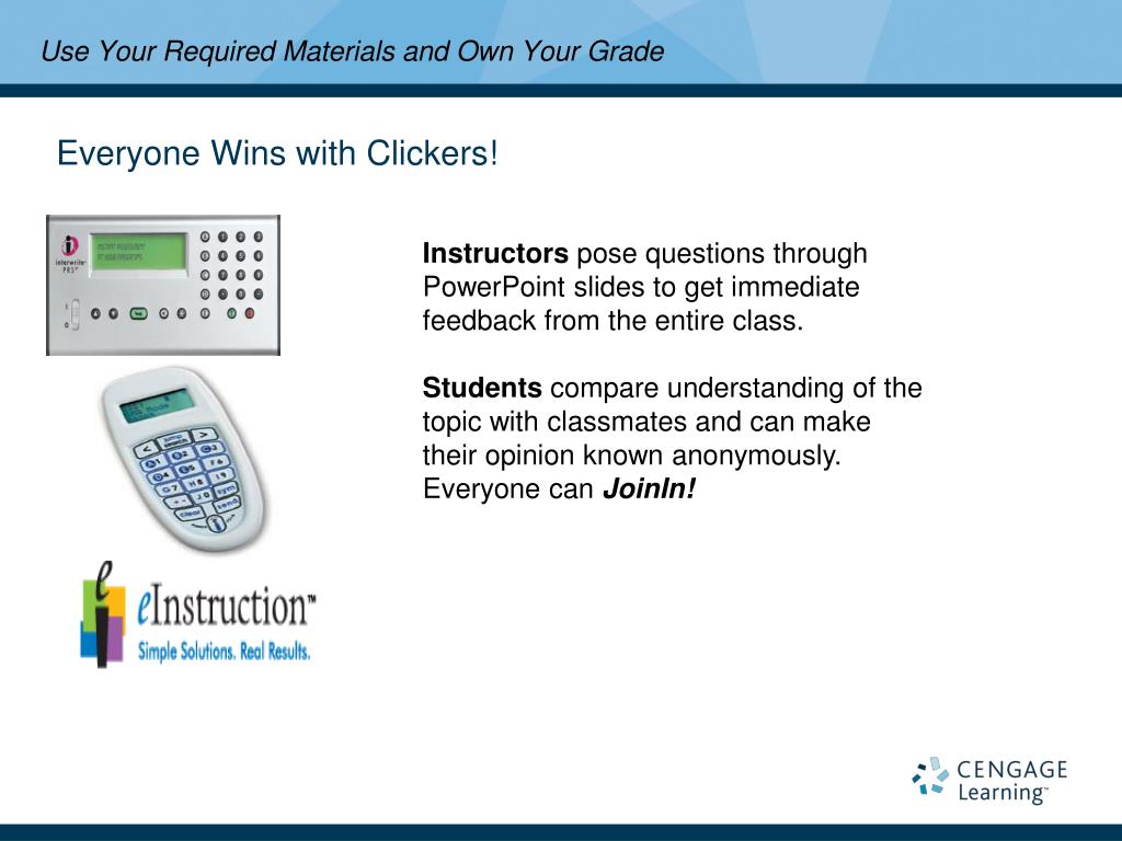 Everyone Wins with Clickers!