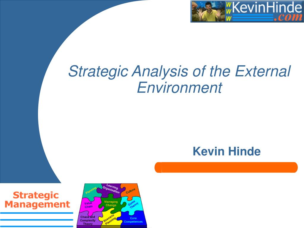 strategic analysis of the external environment l.