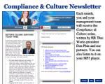compliance culture newsletter