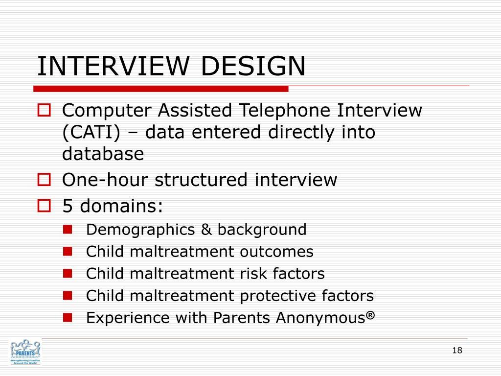 INTERVIEW DESIGN