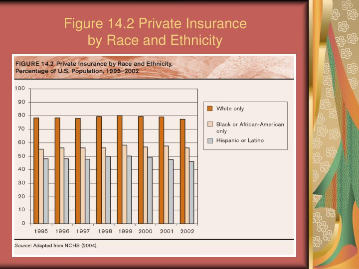 Figure 14 2 private insurance by race and ethnicity