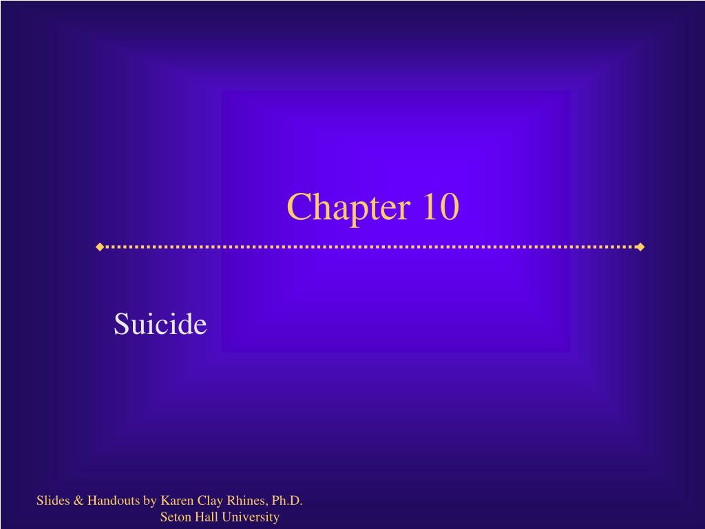 chapter 10 l.