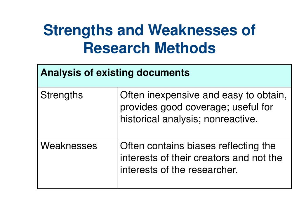 the benefits and weaknesses of approaches Outlines the advantages and disadvantages of various types of approaches used in the resource classroom.
