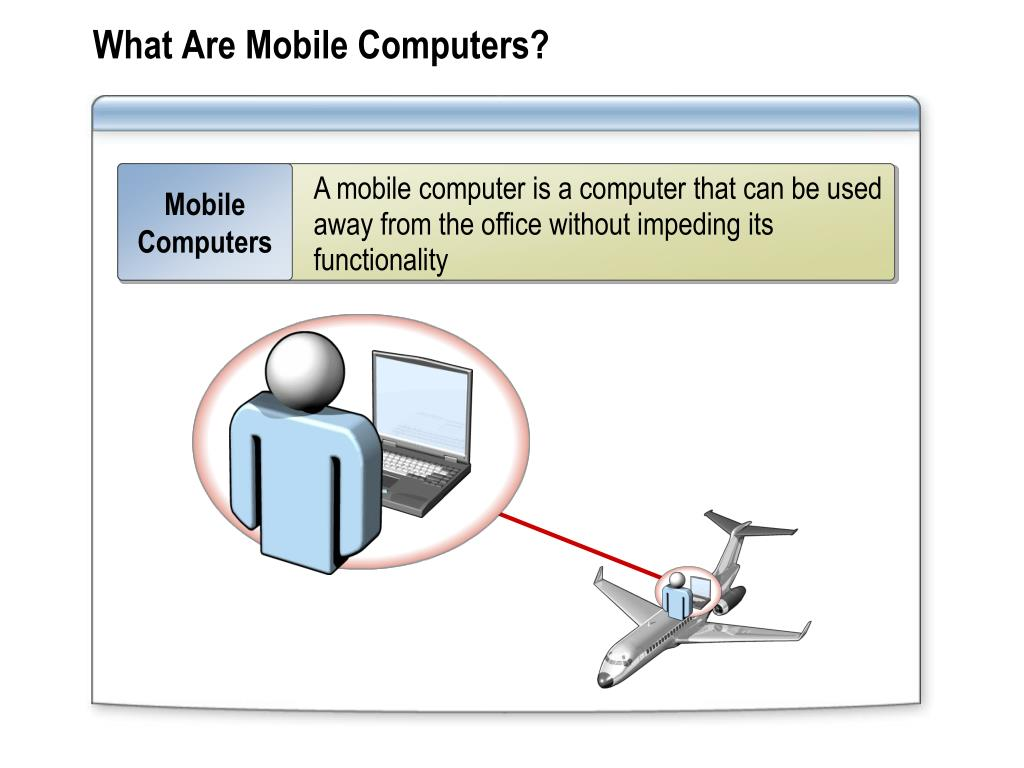 What Are Mobile Computers?