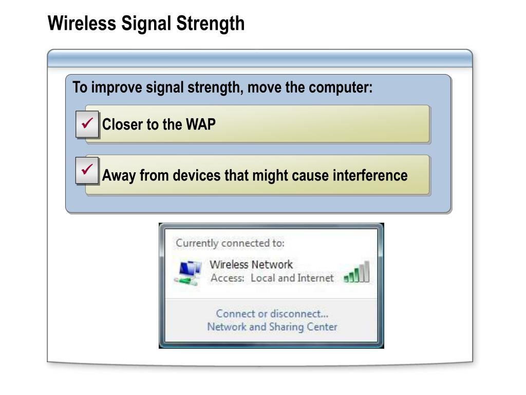 Wireless Signal Strength