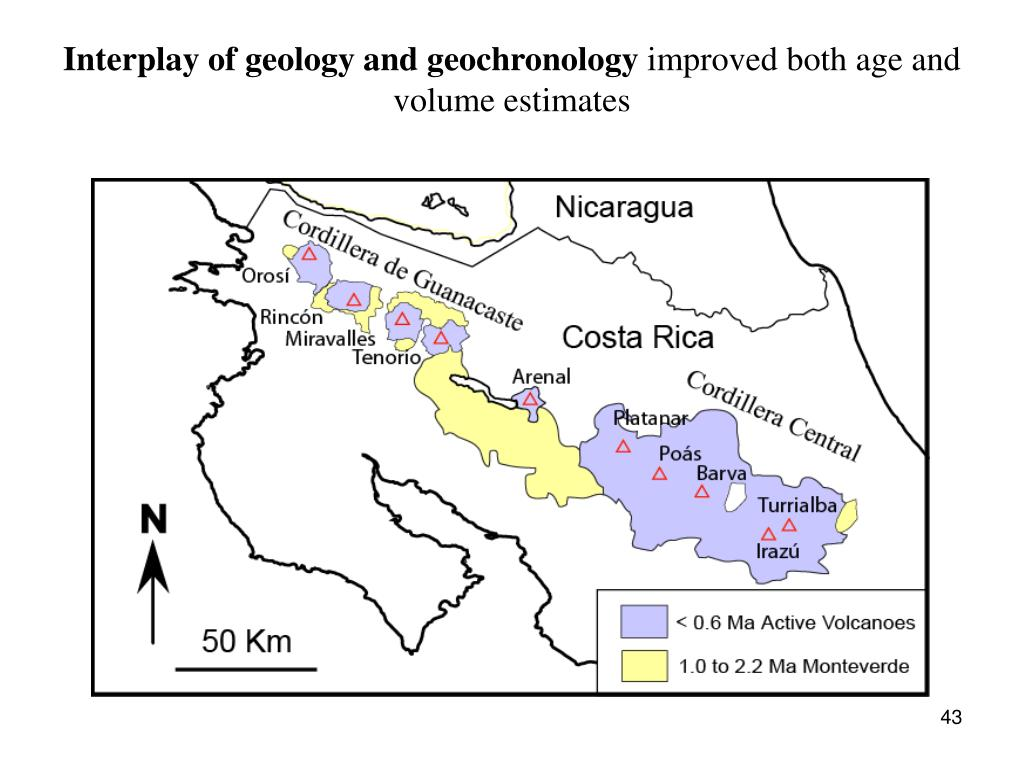 Interplay of geology and geochronology