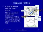 tropause folding32