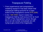 tropopause folding