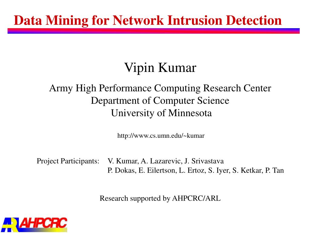data mining for network intrusion detection l.