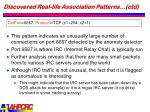discovered real life association patterns ctd22