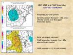 sref mslp and pwat anomalies valid 00z 03apr2006