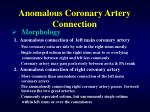 anomalous coronary artery connection