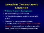 anomalous coronary artery connection30