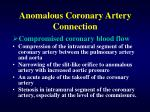 anomalous coronary artery connection32
