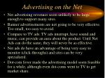 advertising on the net112