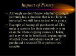 impact of piracy