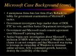 microsoft case background cont121