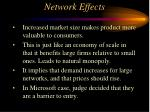 network effects79