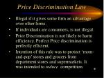 price discrimination law