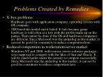 problems created by remedies143