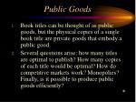public goods38